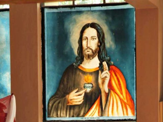 Facebook portrait of Jesus AP Photo
