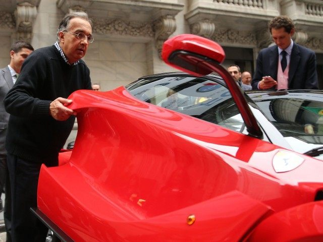 Fiat Chrysler Ferrari (Spencer Platt / Getty)