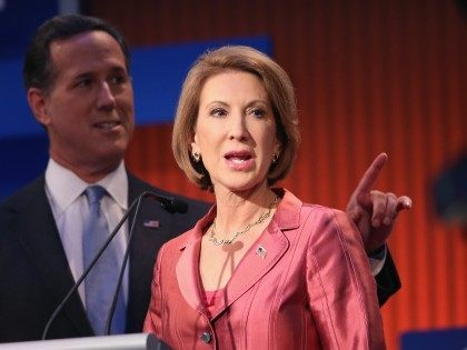 Fiorina debate (Scott Olson / Getty)