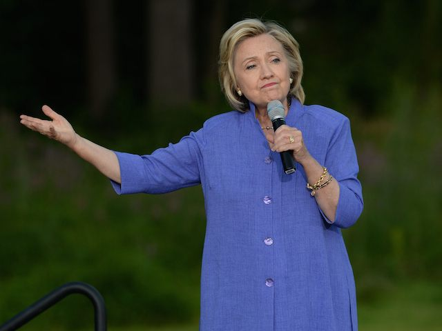 Hillary Clinton Campaigns In New Hampshire