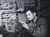 US Soldier Inspects A Priceless Treasure Taken From Jews By The Nazi's And Stashed In The Heilbron