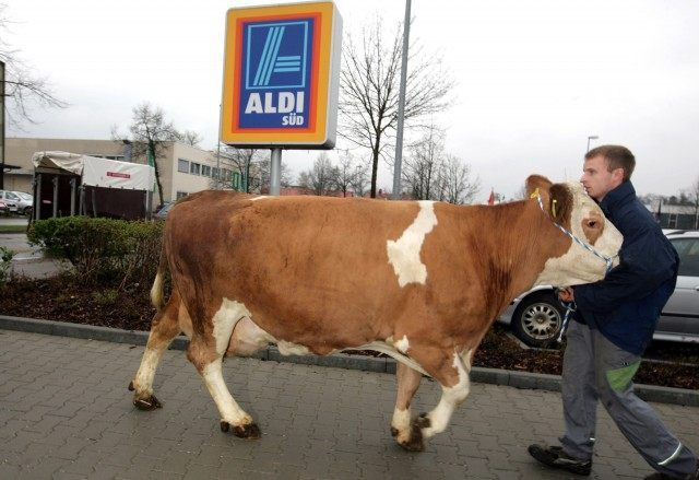 Bavarian Farmers Protest Over Raise Of Milk Prices
