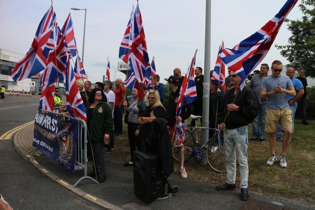 Britain First demonstration