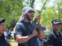 Armed Black Panthers to Texas Cops: 'We Will Start Creeping Up on You in the Darkness'
