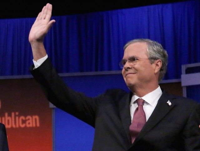 Jeb Bush Republican Debate (Chip Somodevilla / Getty)