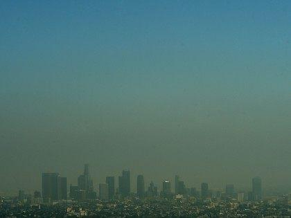 Los Angeles Smog (Mark Ralston / AFP / Getty)