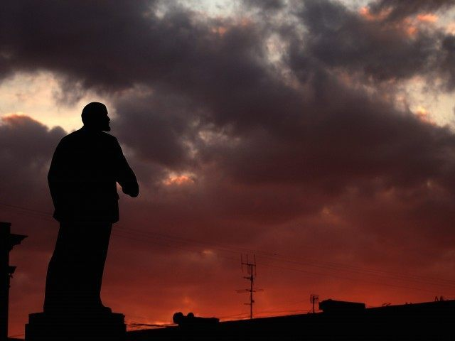 Lenin statue (Filippo Monteforte / AFP / Getty)