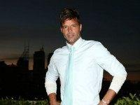 Ricky Martin poses during the Voice Live Finals Show Launch on July 29, 2015 in Sydney, Australia. (Photo by