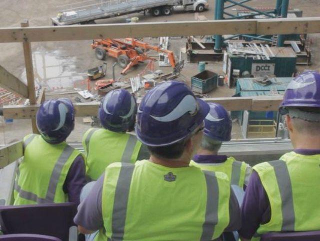 Minnesota Vikings Construction
