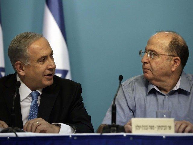 Netanyahu Yaalon (Thomas Coex / AFP / Getty)