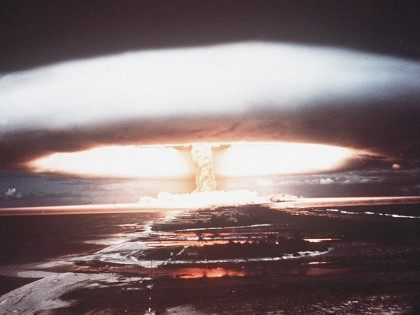 Nuclear explosion (AFP / Getty)