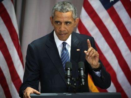 Obama Iran speech (Alex Wong / Getty)