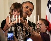 Obama Reform Jews Chanukah (Alex Wong / Getty)
