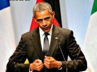 Obama talks climate change AP Markus Schreiber