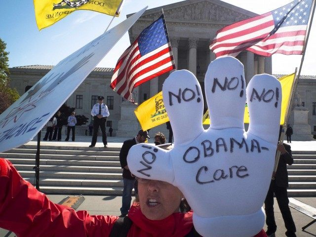 Obamacare Supreme Court (Mladen Antonov / AFP / Getty)