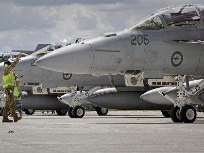 Royal Australian Air Force (RAAF) Super Hornets-Iraq