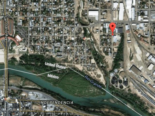 Google Maps image of Rivera arrest location.