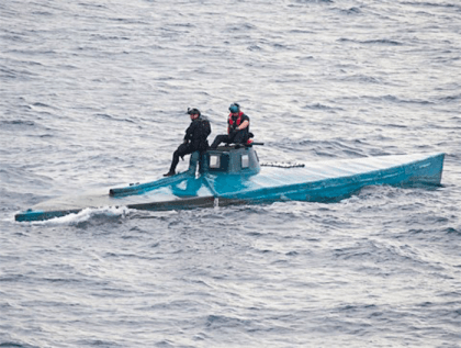 Cocaine Submarine (U.S. CBP)