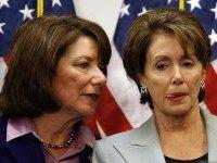Susan Davis with Pelosi (Chip Somodevilla / Getty)