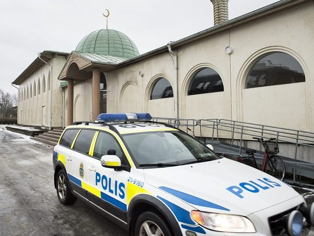 SWEDEN-MOSQUE-CRIME