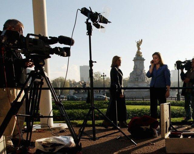 TV News crew (Oli Scarff / Getty)
