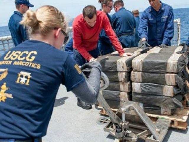 US-Coast-Guard-cocaine-bale-ap