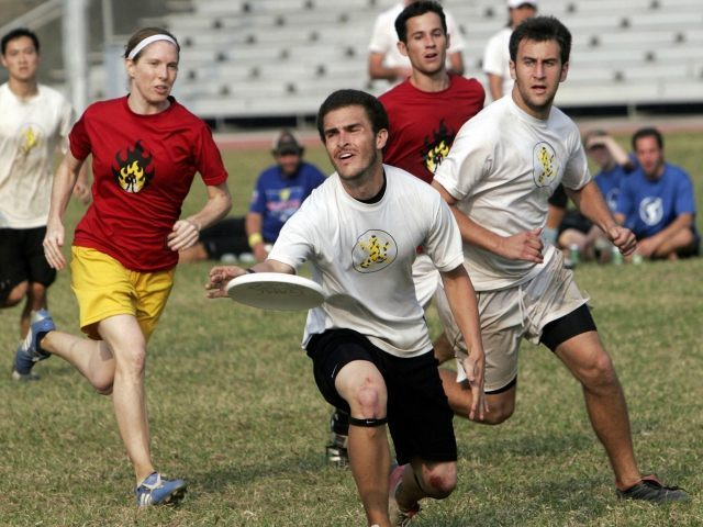 Ultimate Frisbee Getty