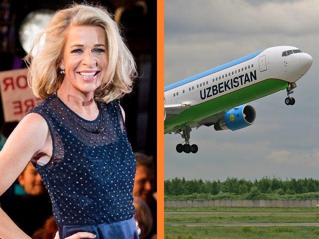 Katie Hopkins Uzbekistan Airlines