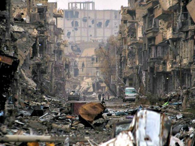 War Torn Syrian City of Deir Ezzor AFP Photo
