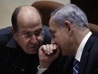 Ya'alon Netanyahu (Thomas Coex / AFP / Getty)