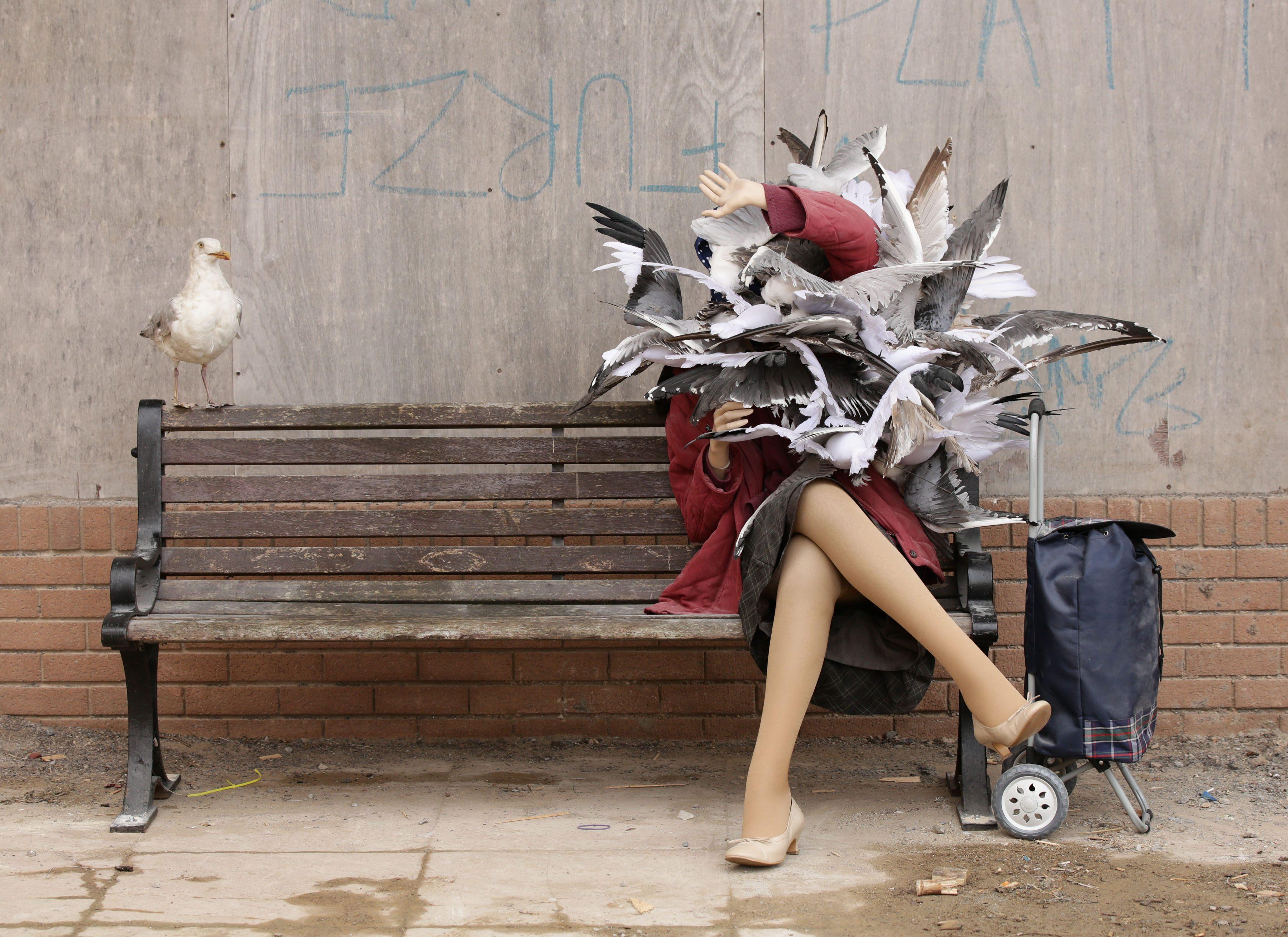 Artist Banksy opens derelict 'Dismaland' theme park ...