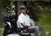 White House Issues Statement in Reaction to Justice Scalia's Death While Obama Golfs