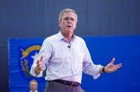 Jeb Bush's Border Slogan: 'We Can't Do It'