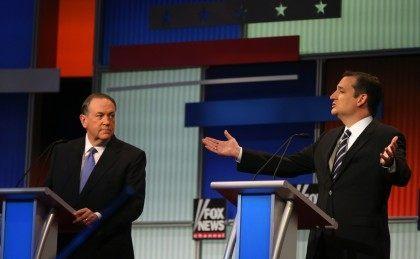 Mike Huckabee, Ted Cruz