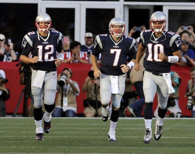 Tom Brady, Jimmy Garoppolo, Ryan Lindley