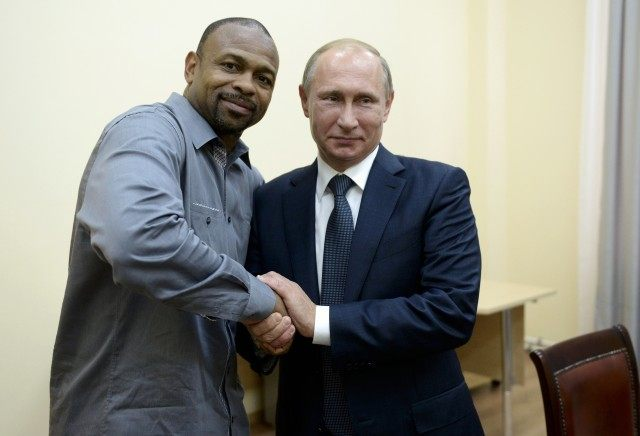 Vladimir Putin, Roy Jones Jr