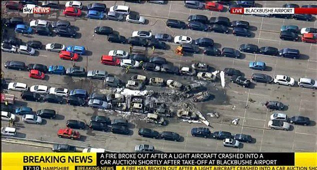 Bin Laden Family Plane Crash Image