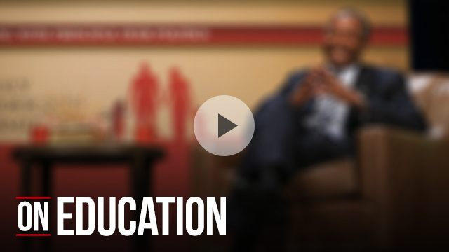 Ben Carson on education