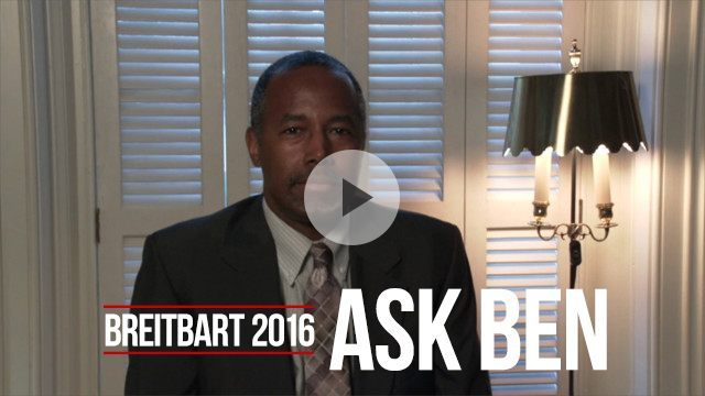 Ben Carson answers Breitbart Readers questions