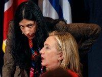 Hillary Squirms as Trump Calls Huma's Husband Weiner a 'Perv' and 'Sleazebag'