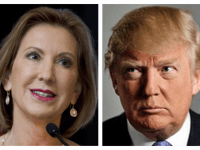 Donald Trump Swings at Fellow GOP Candidates, but Not Carly Fiorina