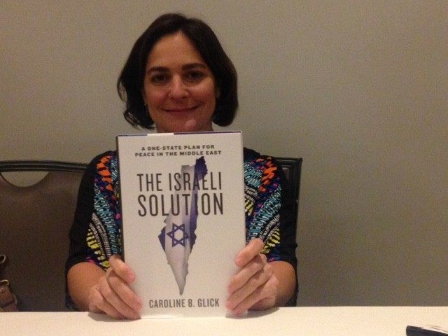 Caroline Glick (Adelle Nazarian / Breitbart News)