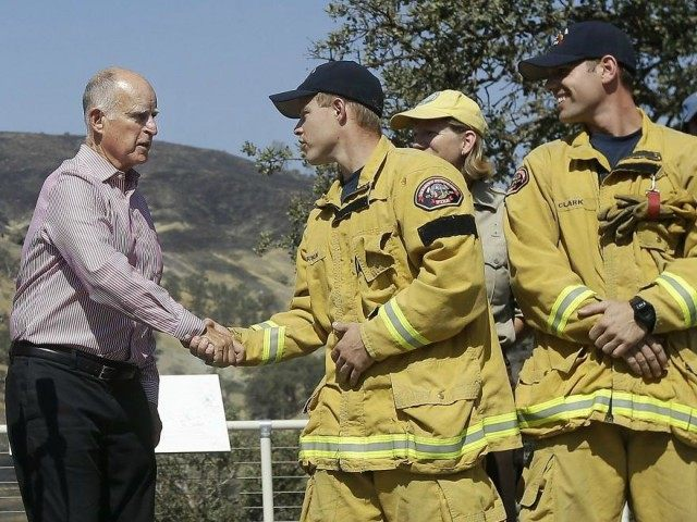 jerry Brown fire
