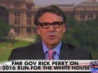 Perry: Trump's Rhetoric 'Political Theater,' We Are Not Building a 1,933-Mile Wall