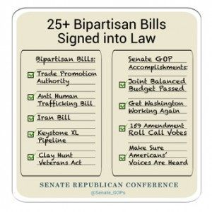 senate priorites