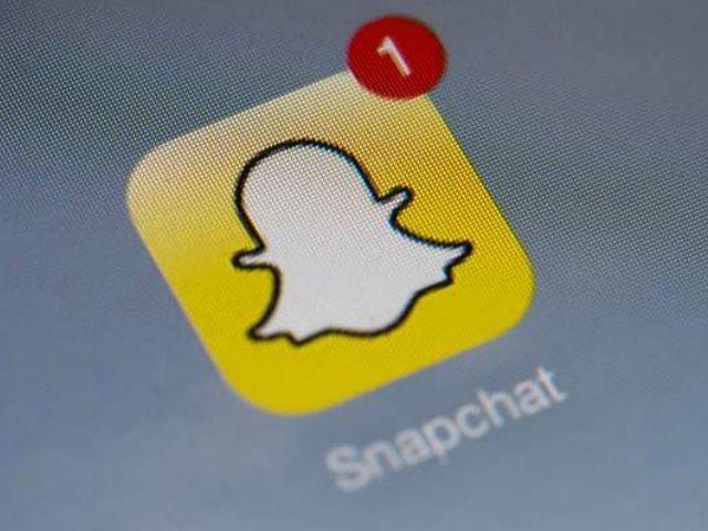 snapchat-AFP