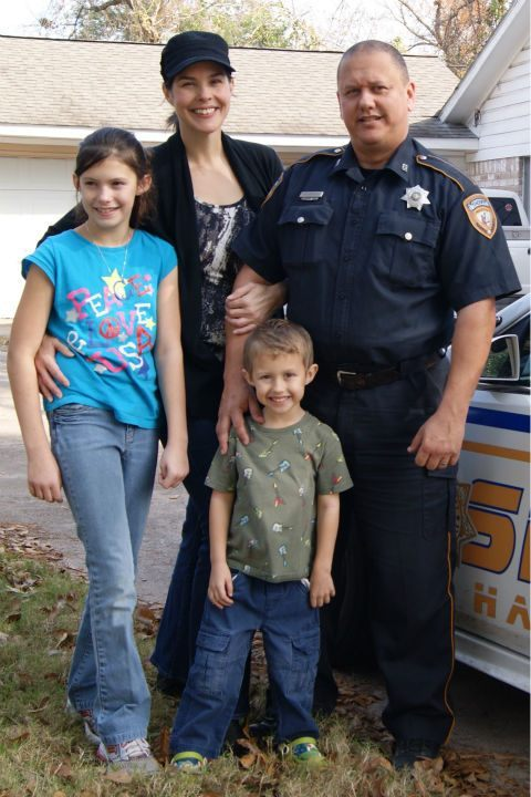 Harris County Deputy Sheriff Darren Goforth leaves behind a wife and two children.