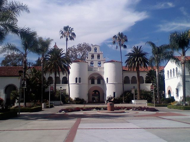 San Diego State University (Monique WIngard / Flickr / CC)