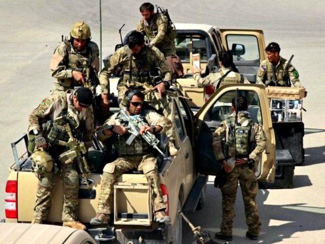 Afghan Special Forces in Kunduz AFP Getty