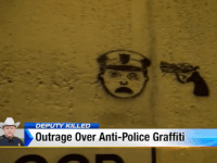Graffiti Threatening Violence Against Police Appearing in Texas After Cop's Execution
